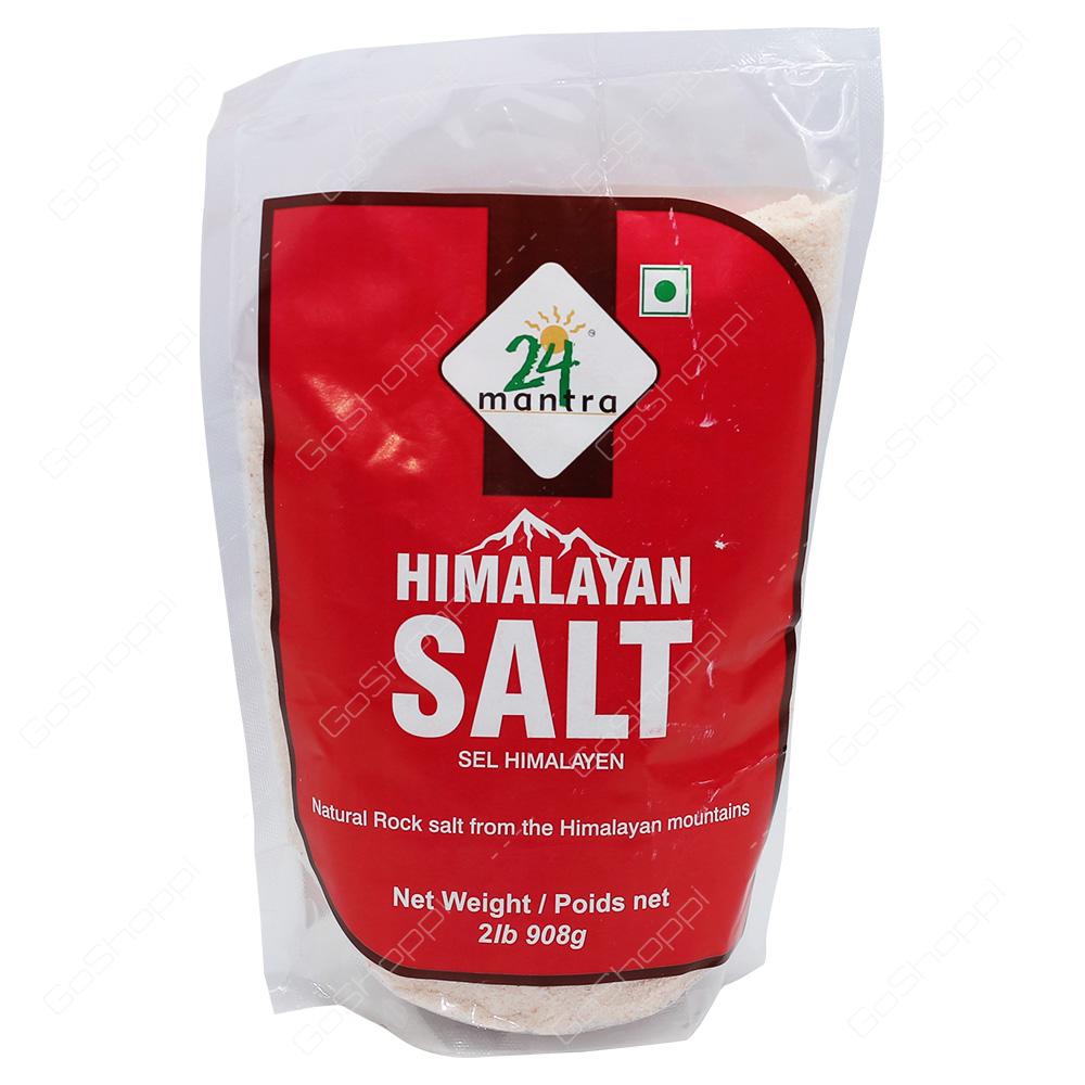 24 Mantra Himalayan Salt 2lb