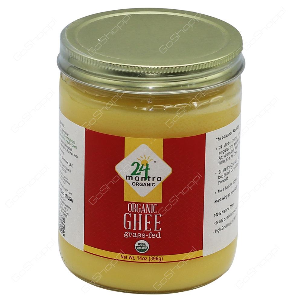 24 Mantra Organic Ghee 396g