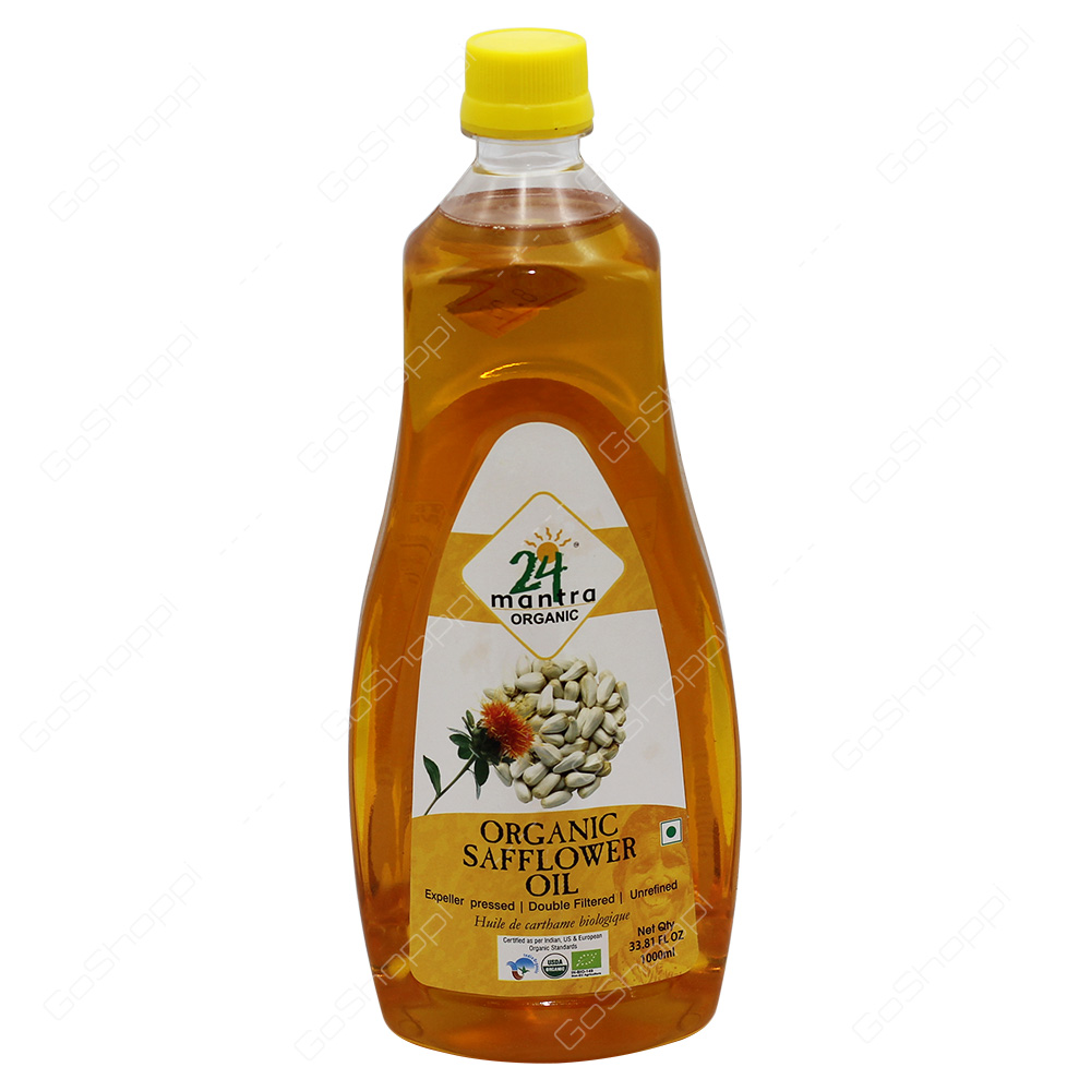 24 Mantra Organic Safflower Oil 1000ml