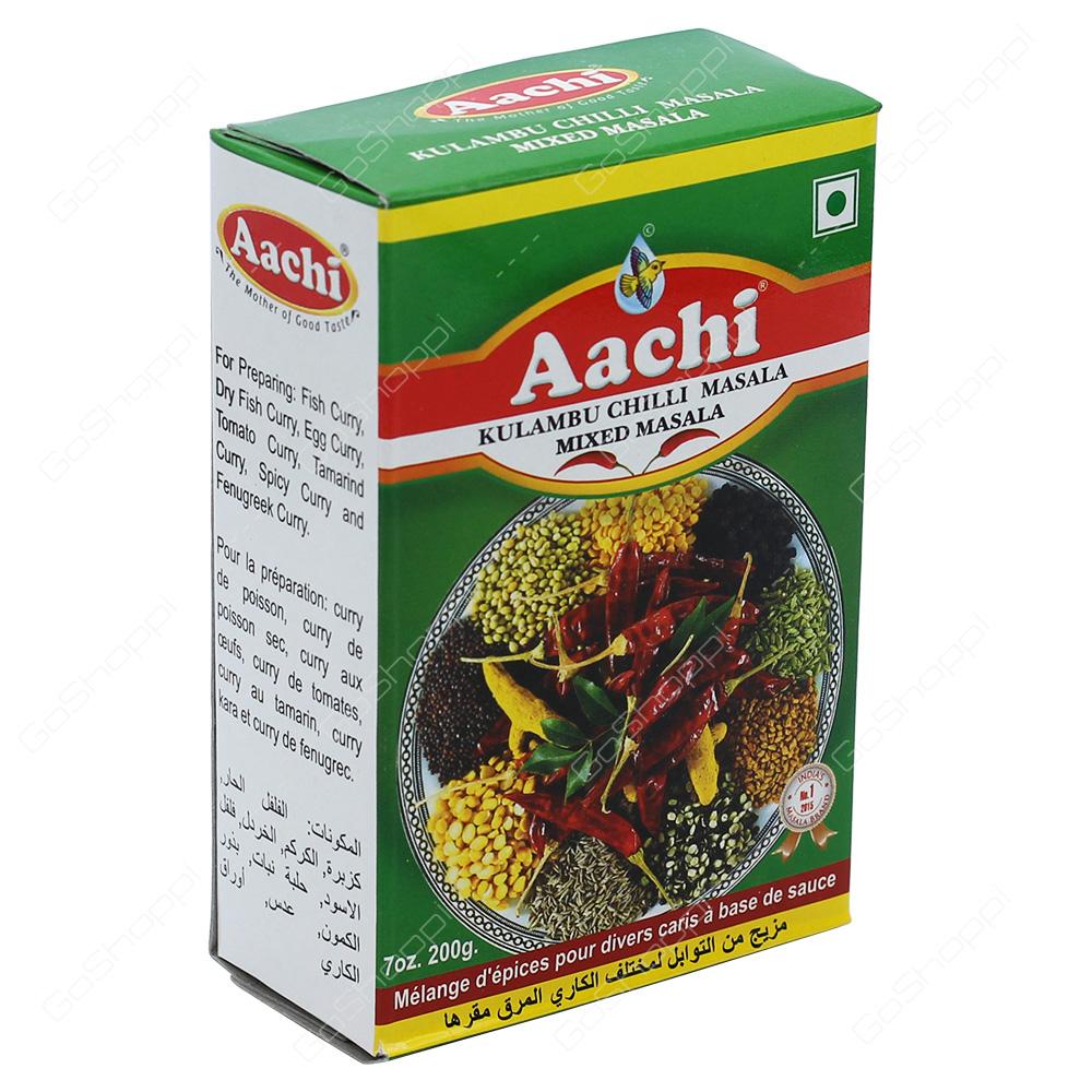 Aachi Kulambu Chilli Masala Mixed Masala 200g