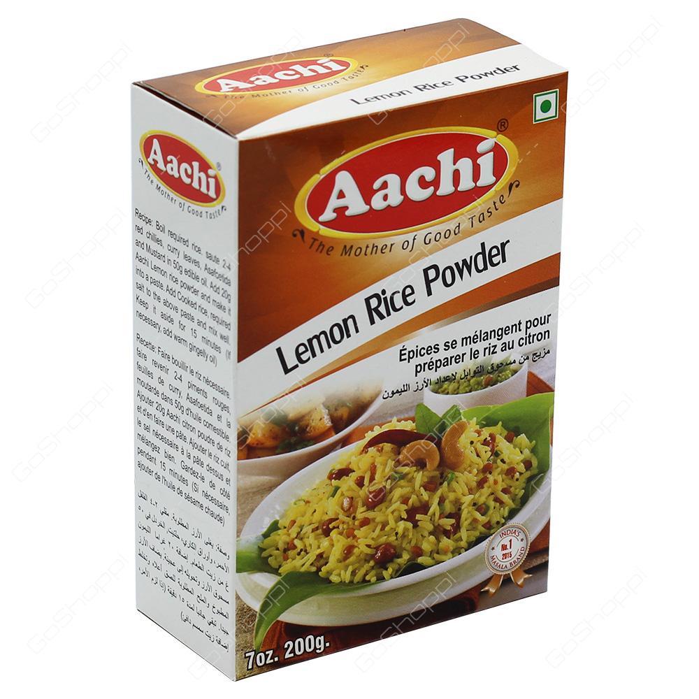 Aachi Lemon Rice Powder 200g