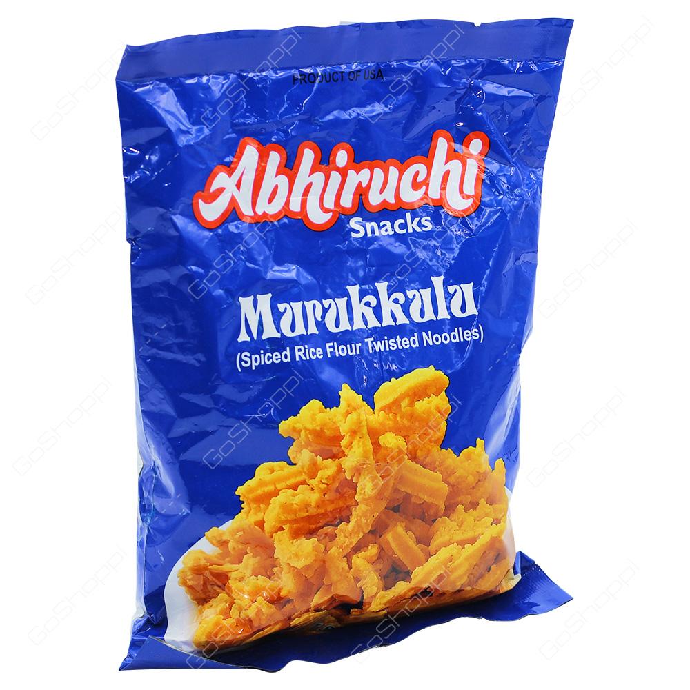 Abhiruchi Snacks Murukkulu 200g