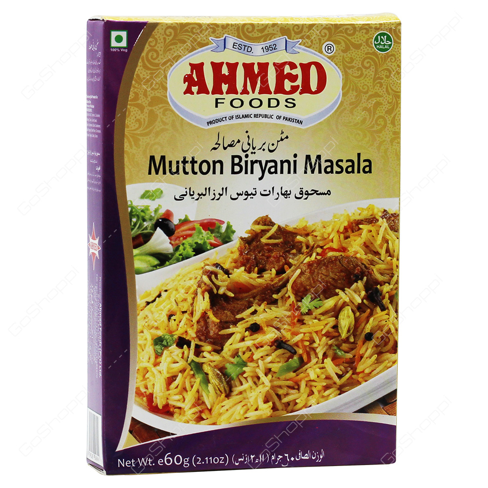 Ahmed Foods Mutton Biryani Masala 60g