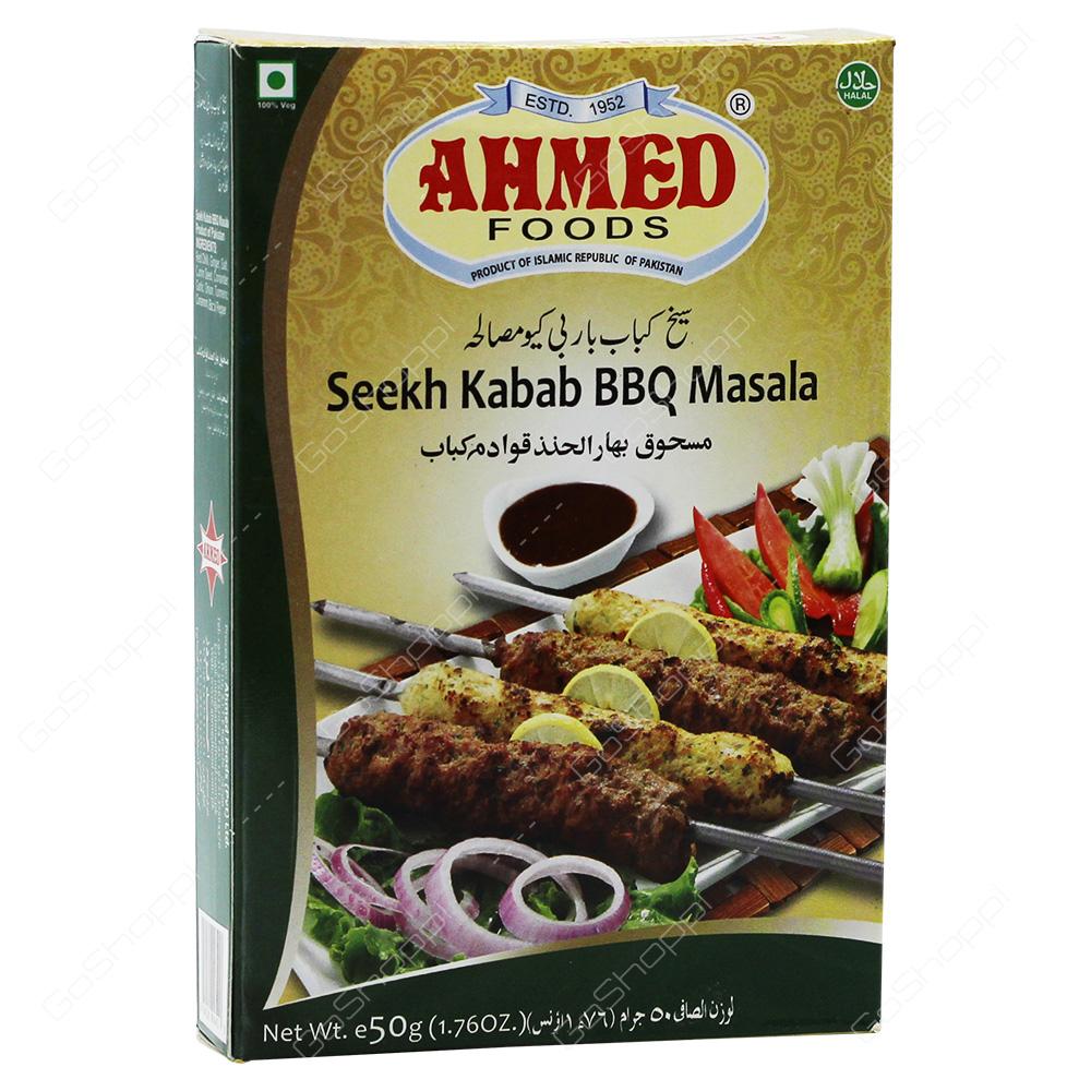Ahmed Foods Seehk Kabab BBQ Masala 50g