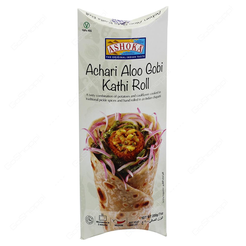Ashoka Achari Aloo Gobi Kathi Roll 200g