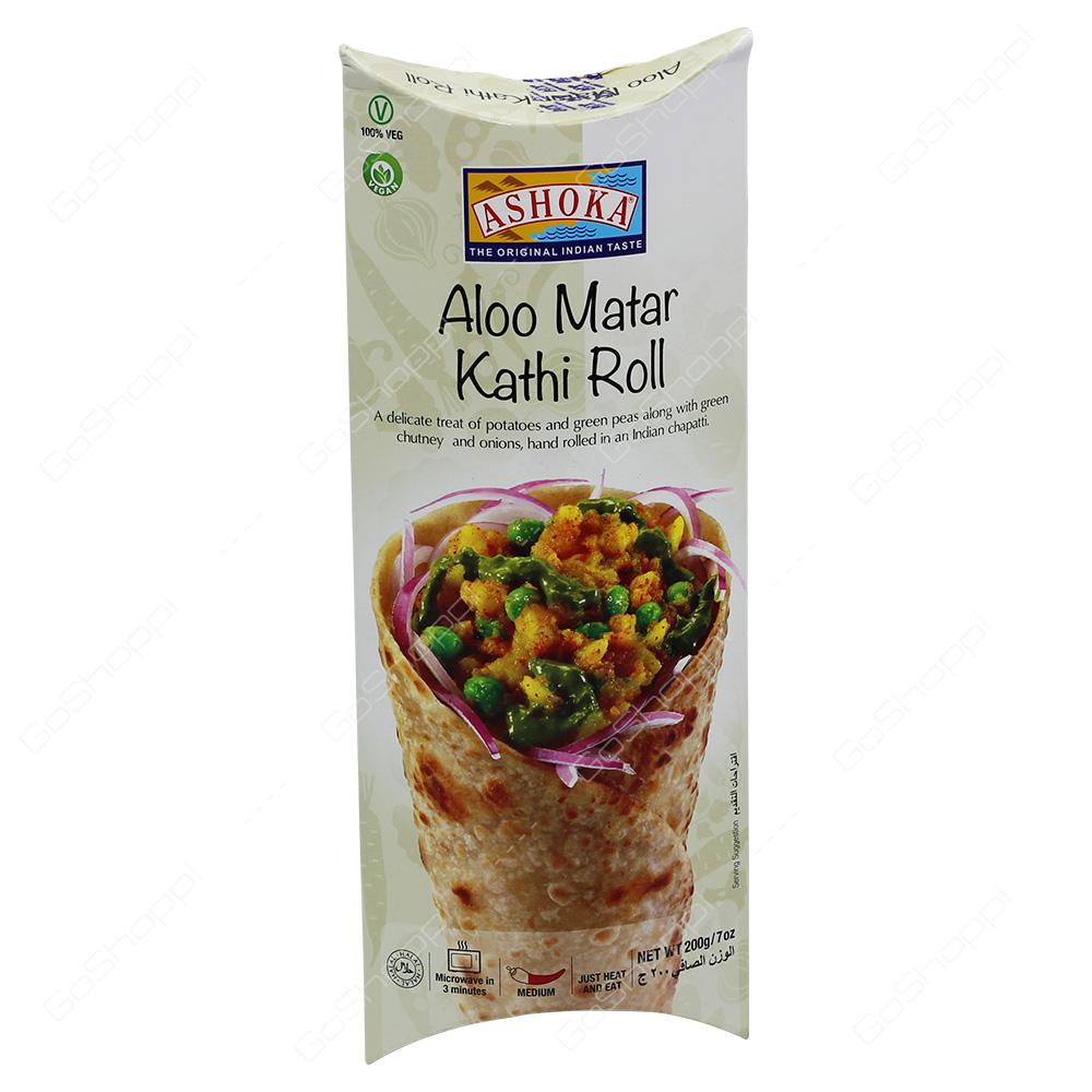 Ashoka Aloo Matar Kathi Roll 200g