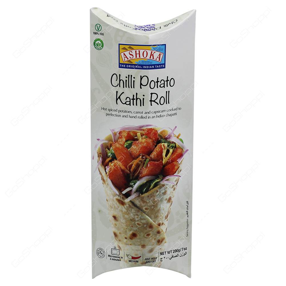 Ashoka Chilli Potato Kathi Roll 200g