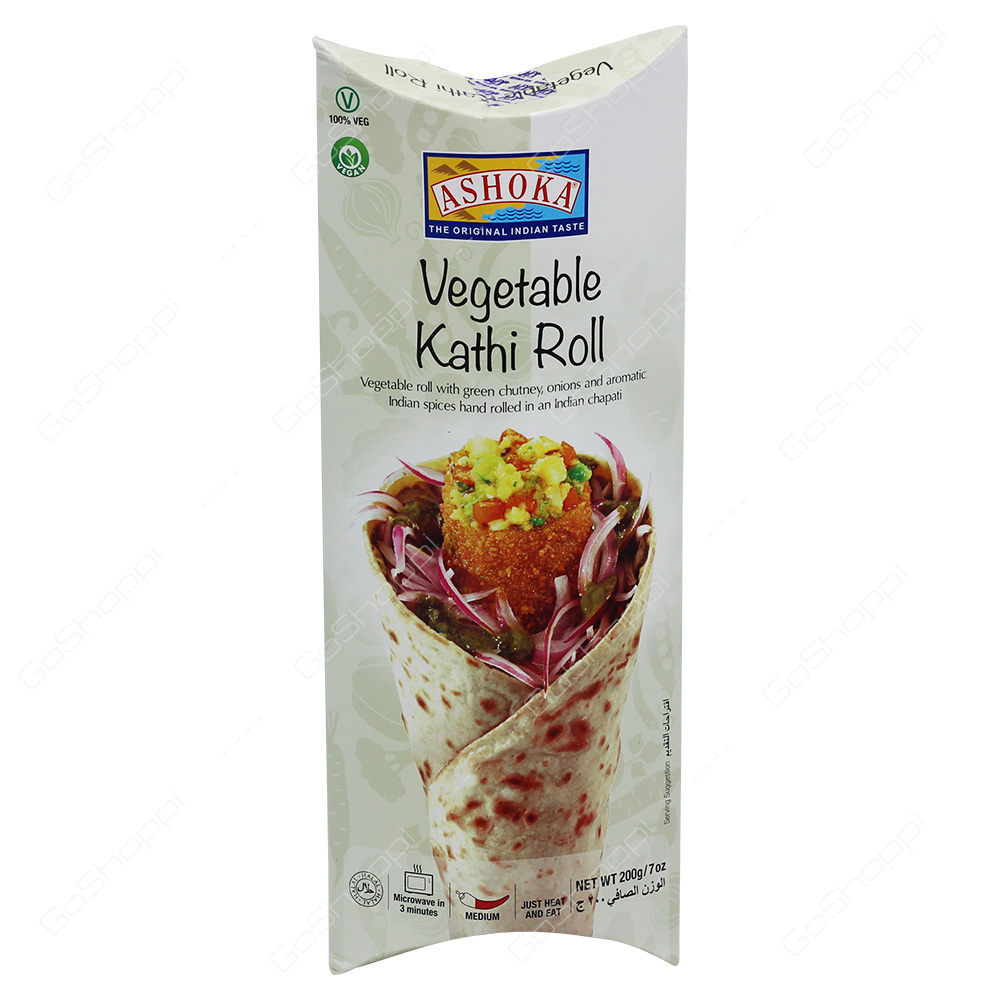 Ashoka Vegetable Kathi Roll 200g