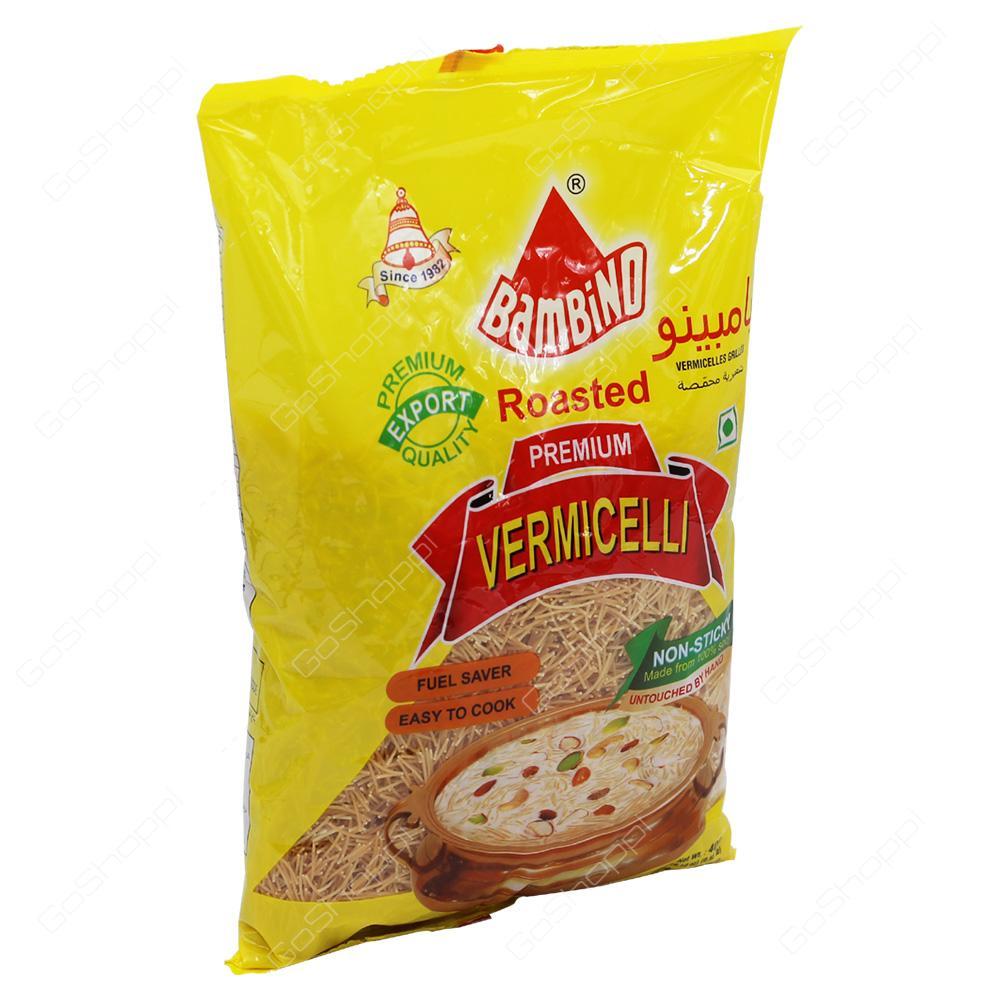 Bambino Roasted Premium Vermicelli 400g