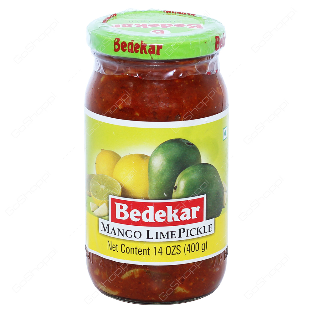 Bedekar Mango Lime Pickle 400g