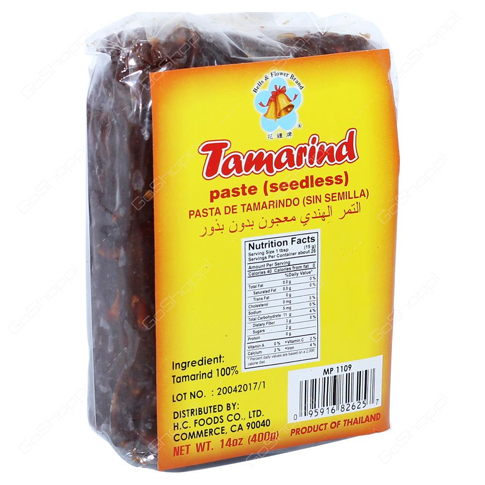 Bells & Flower Brand Tamarind 400g