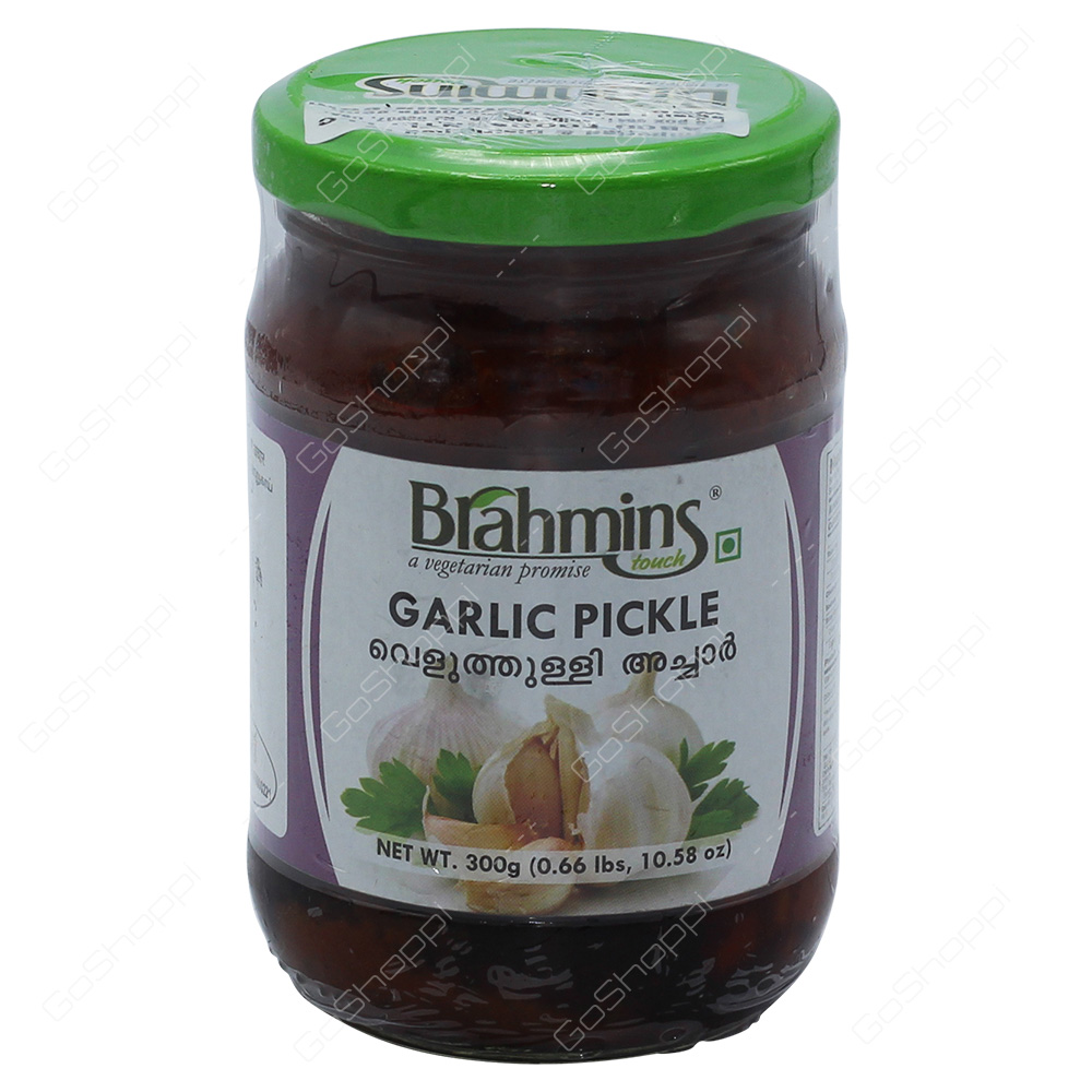 Brahmins Garlic Pickle 300g