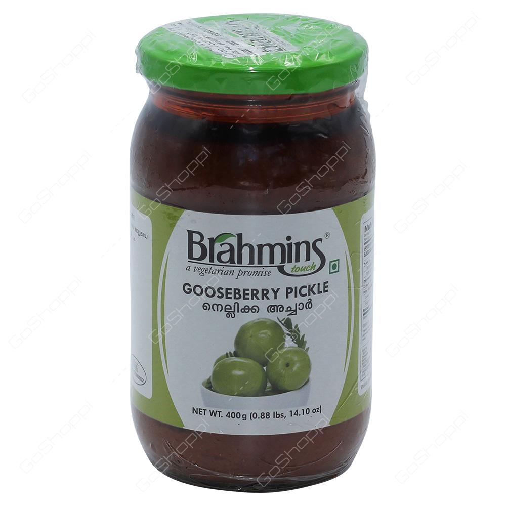 Brahmins Gooseberry Pickle 400g
