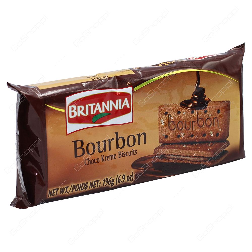 Britannia Bourbon Biscuits 196g