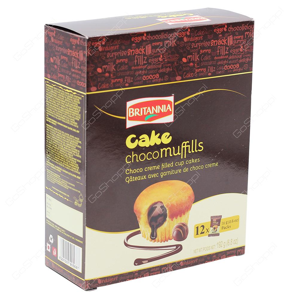 Britannia Cake Choco Muffills 192g