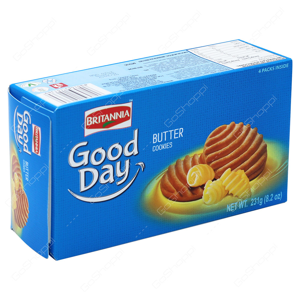 Britannia Good Day Butter Cookies 231g