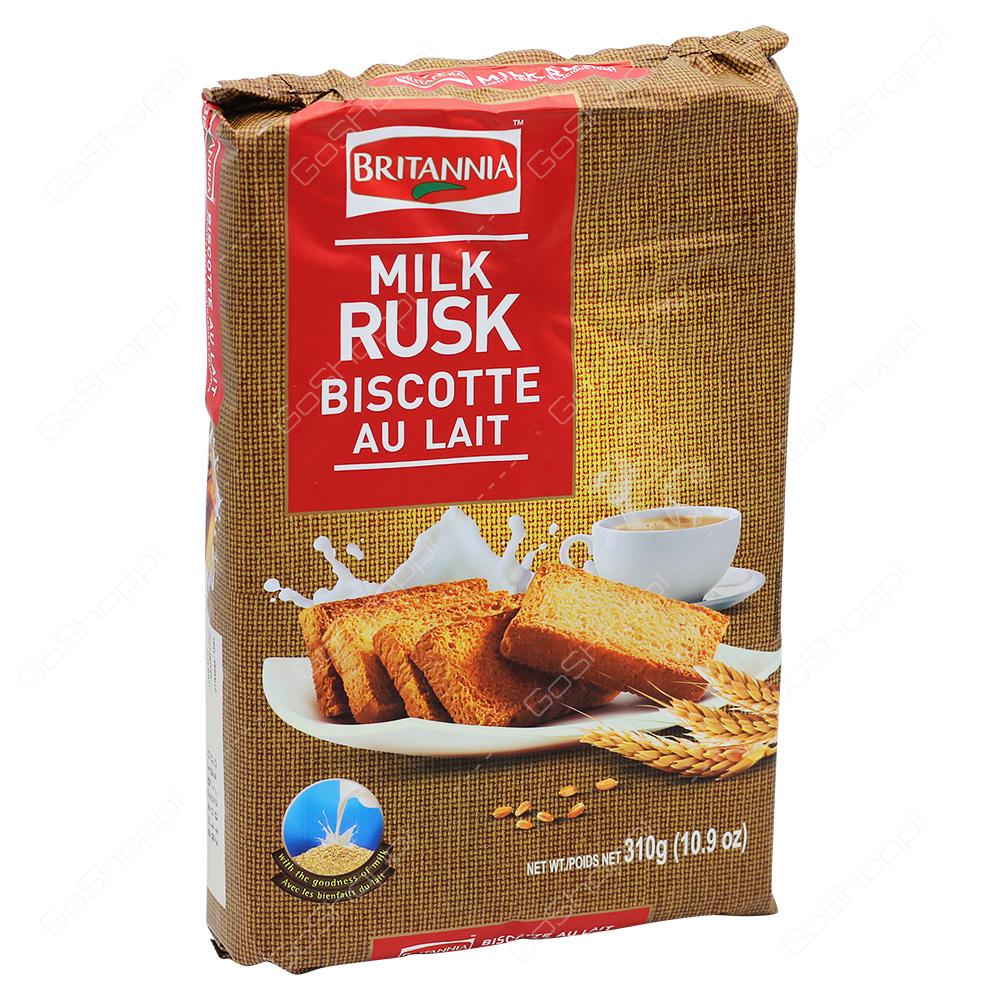 Britannia Milk Rusk 310g