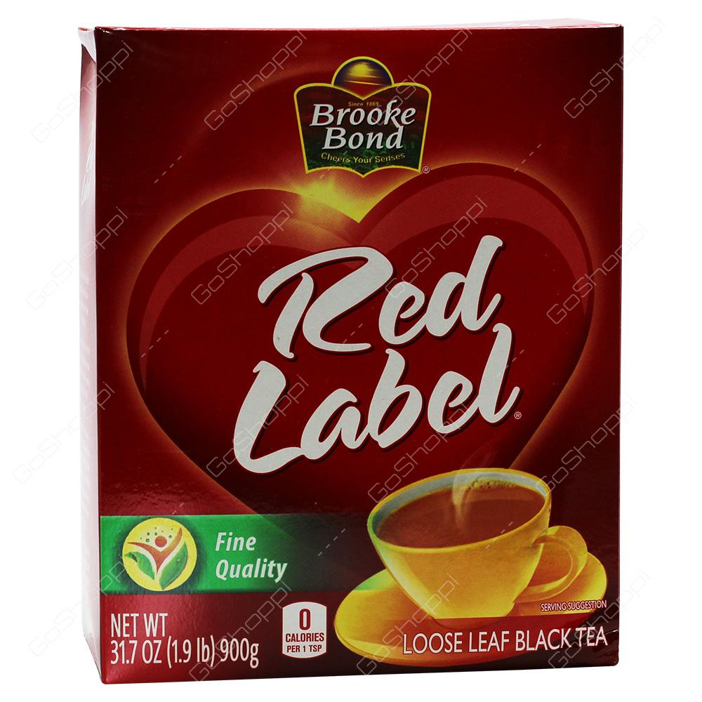 Brooke Bond Red Label Loose Leaf Black Tea 900g