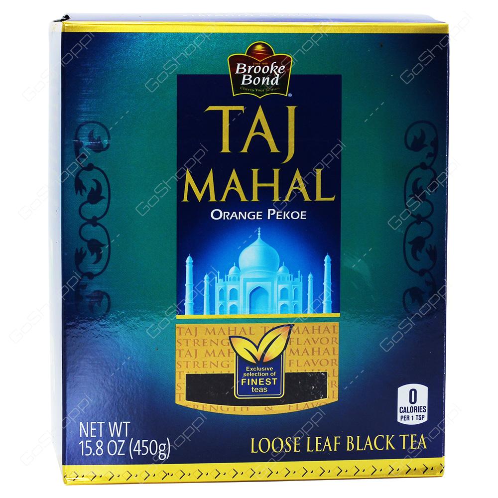 Brooke Bond Taj Mahal Loose Leaf Black Tea 450g