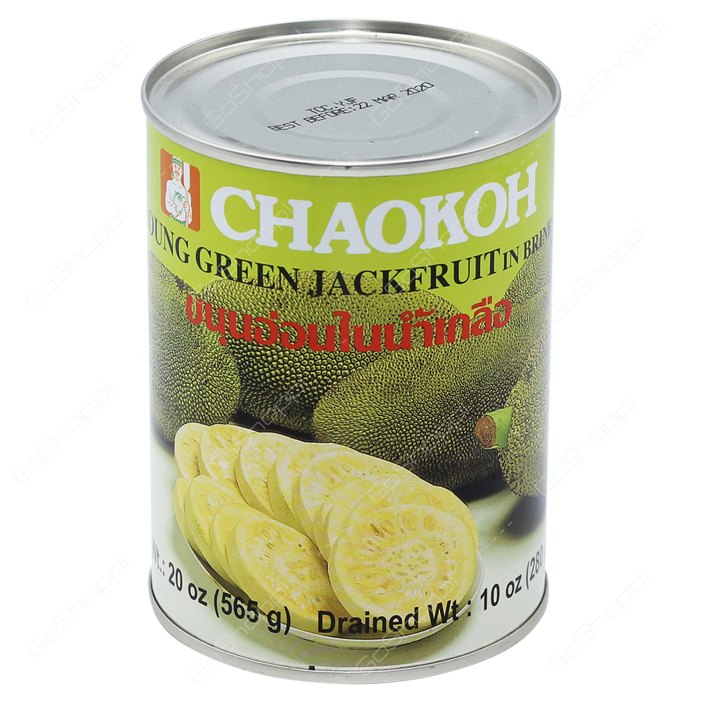 Chaokoh Young Green Jackfruit in Brine 565g