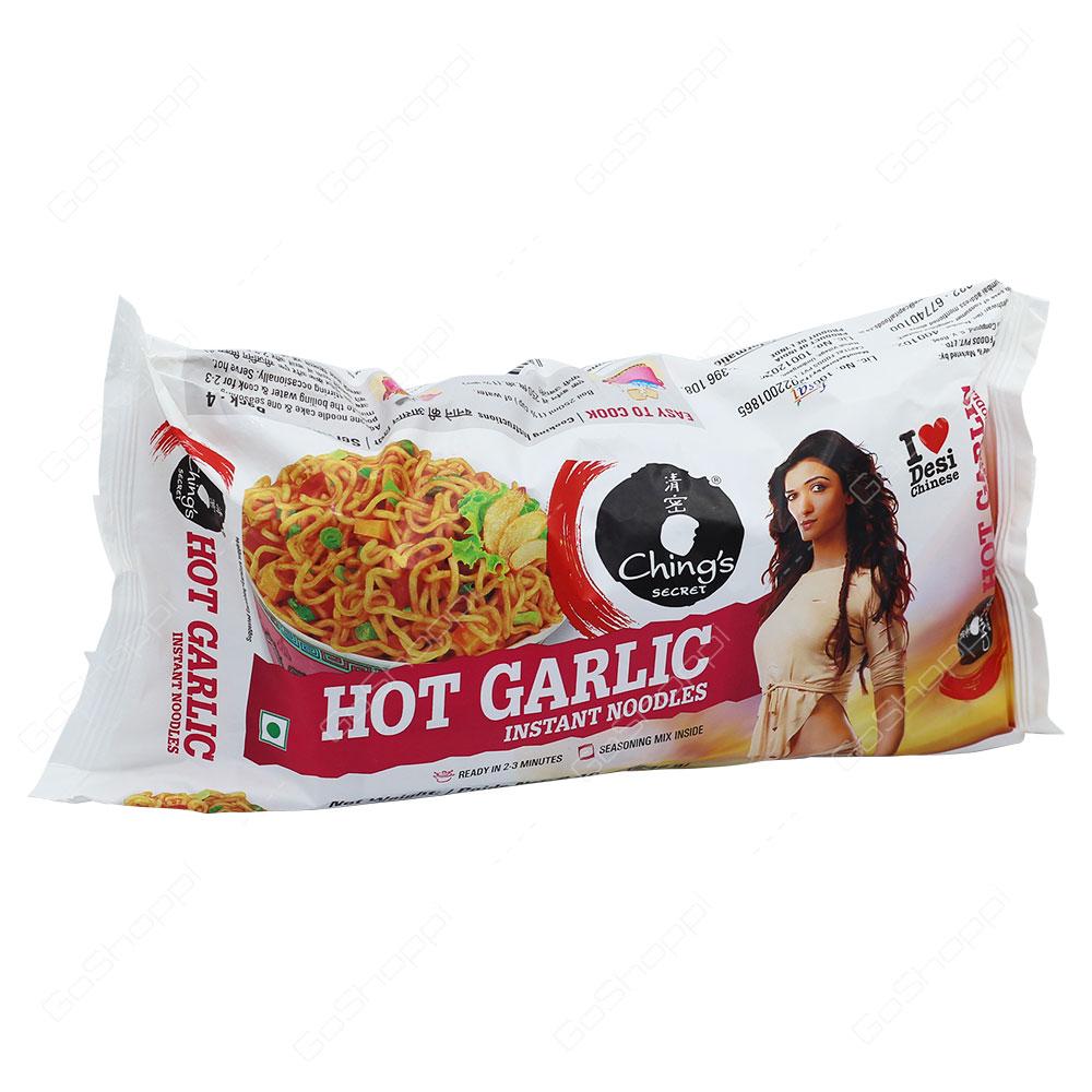 Chings Secret Hot Garlic Instant Noodles 240g