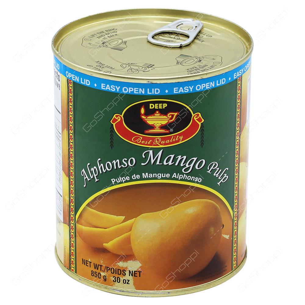 Deep Alphonso Mango Pulp 850g