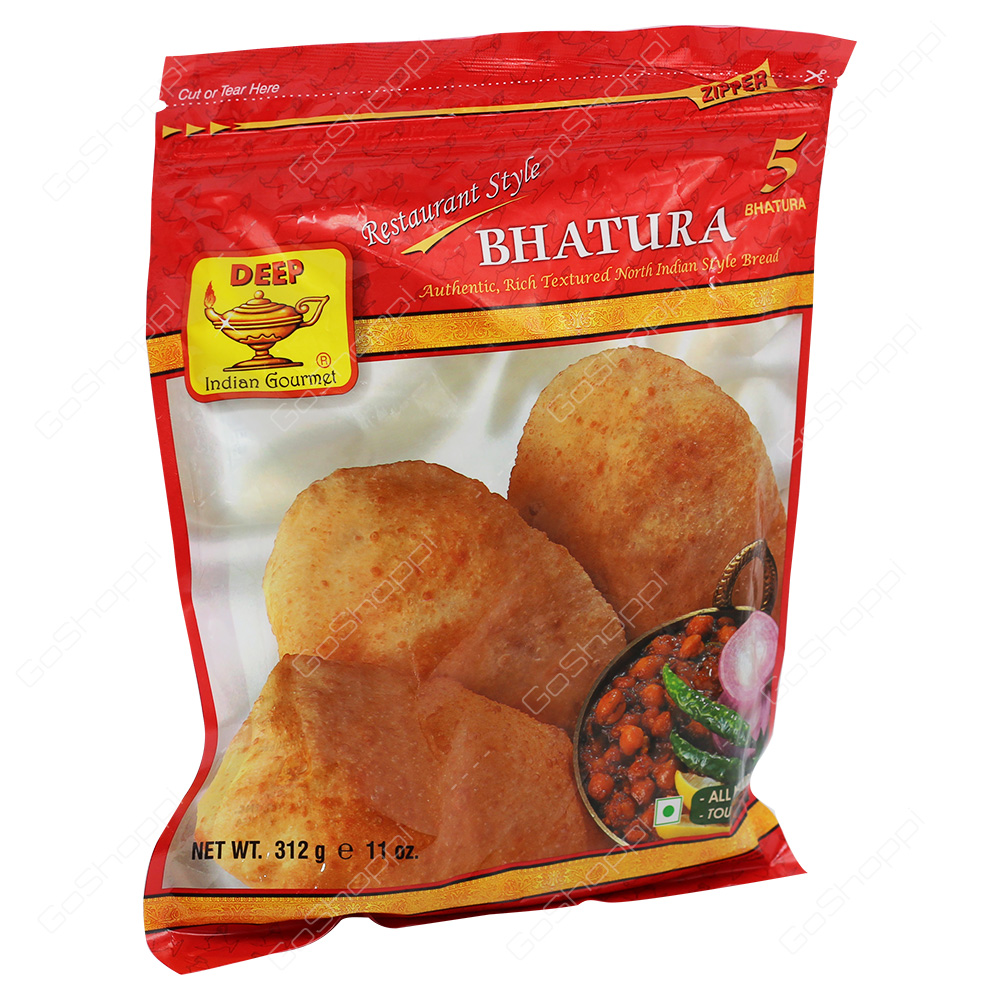 Deep Bhatura 5Pieces 312g