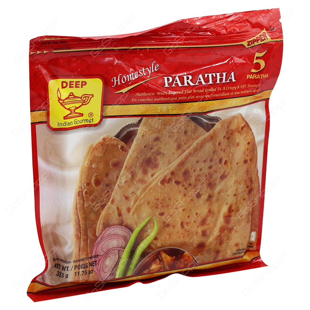 Deep Homestyle Paratha 5Pieces 333g
