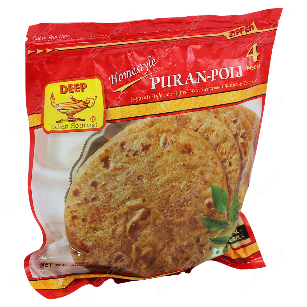 Deep Homestyle Puran-Poli 4Pieces 468g