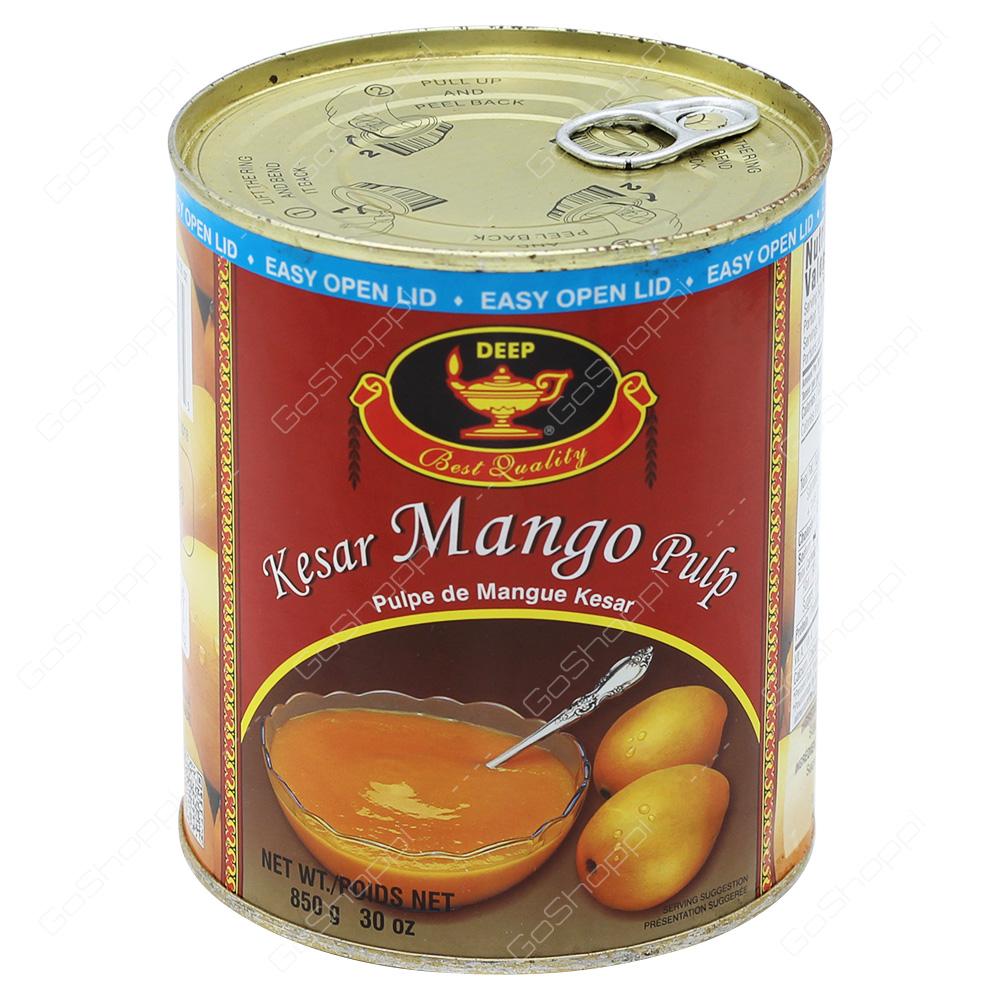 Deep Kesar Mango Pulp 850g