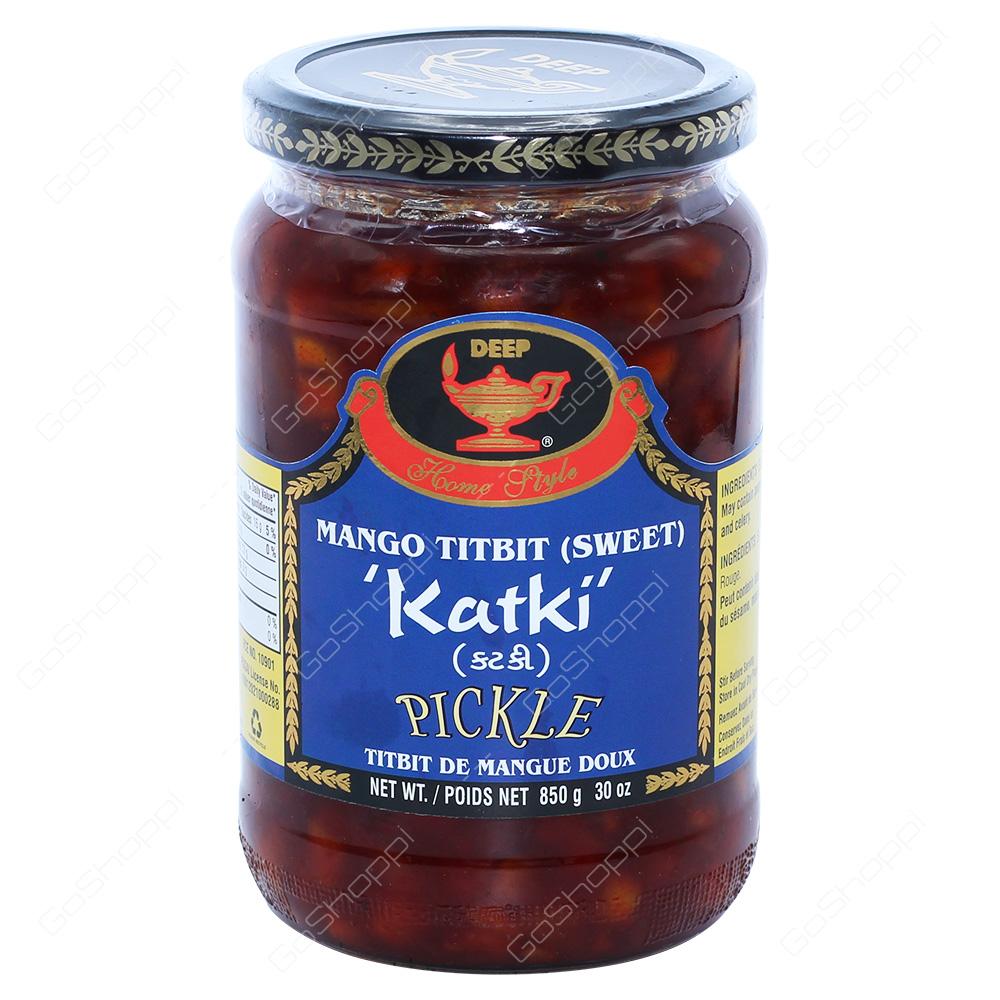 Deep Mango Titbit Pickle Katki 850g