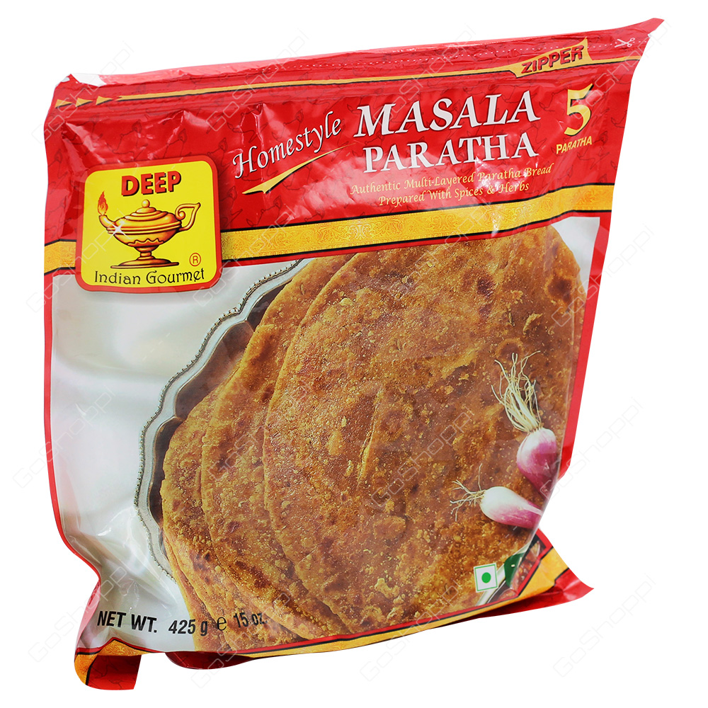 Deep Masala Paratha 5Pieces 425g