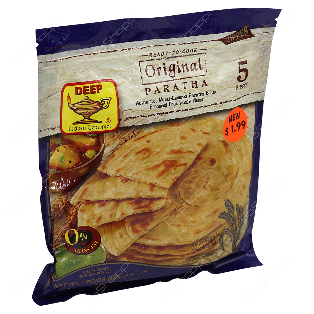 Deep Original Paratha 5Pieces 300g