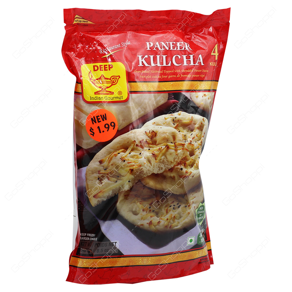 Deep Paneer Kulcha 4Pieces 240g