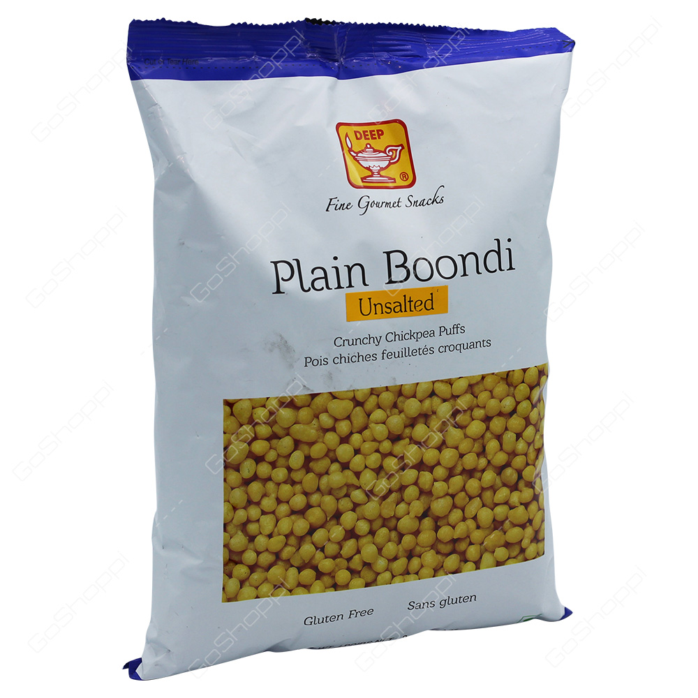 Deep Plain Boondi Unsalted 340g
