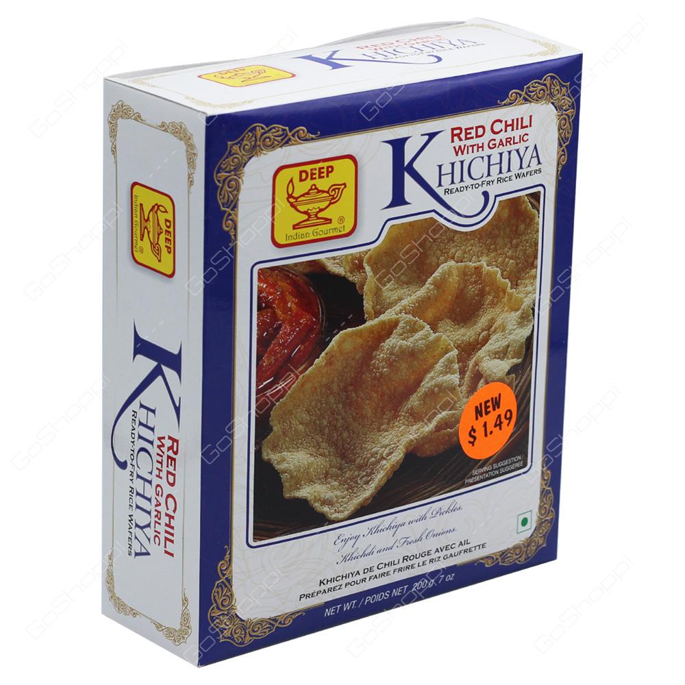 Deep Red Chili With Garlic Khichiya 200g