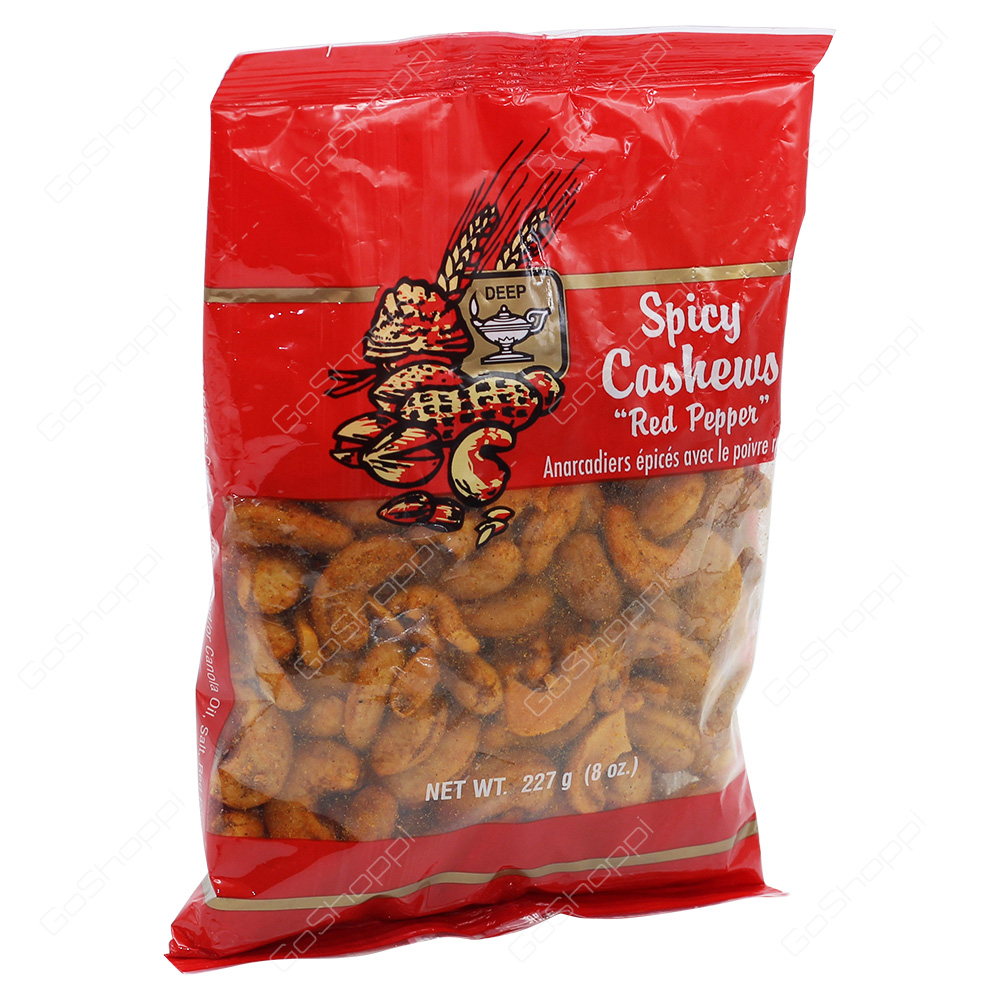 Deep Spicy Cashews Red Pepper 227g