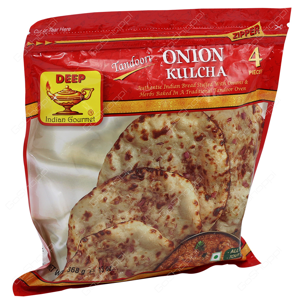 Deep Tandoori Onion Kulcha 4Pieces 368g