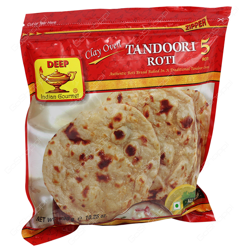 Deep Tandoori Roti 5Pieces 290g