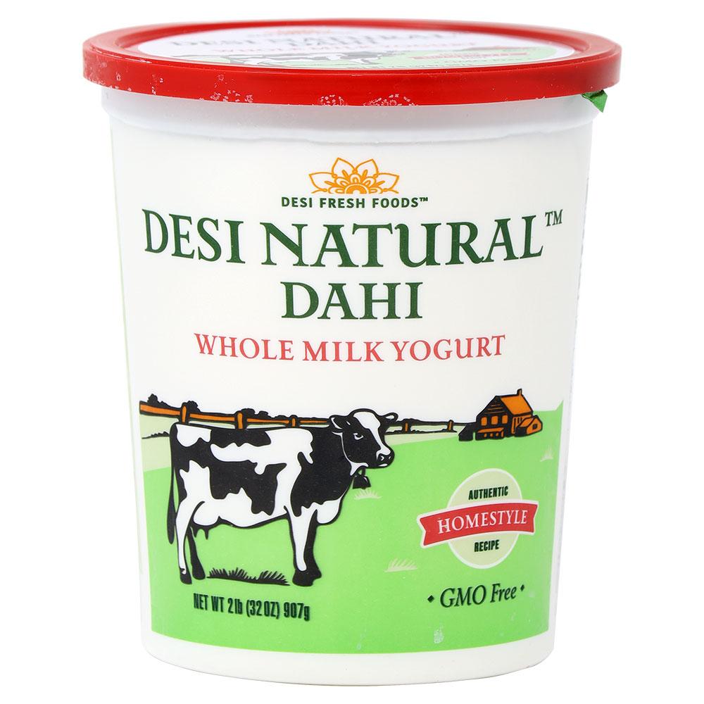 Desi Natural Dahi Whole Milk Yogurt