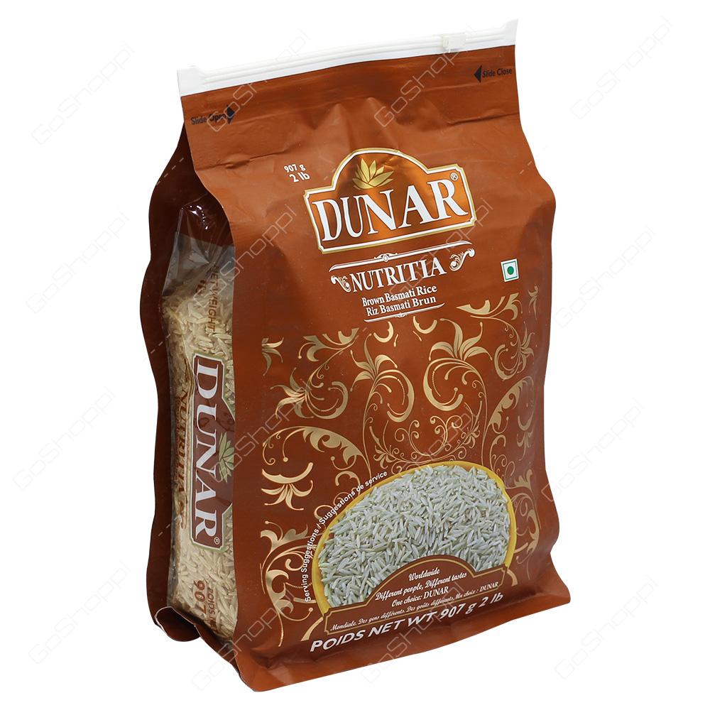 Dunar Nutritia Brown Basmati Rice 2lb