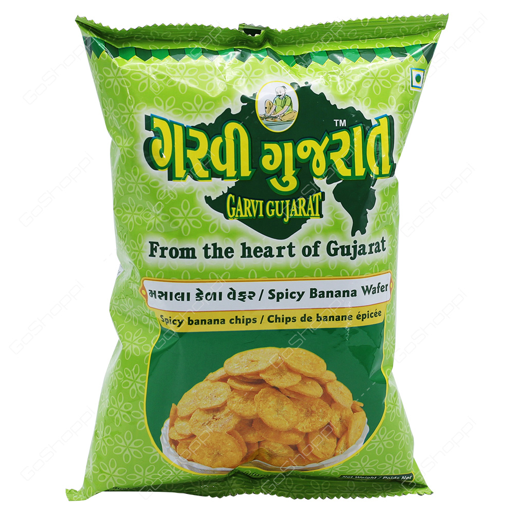 Garvi Gujarat Spicy Banana Wafer 180g