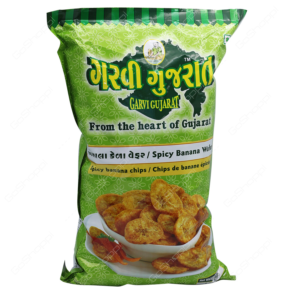 Garvi Gujarat Spicy Banana Wafer 908g