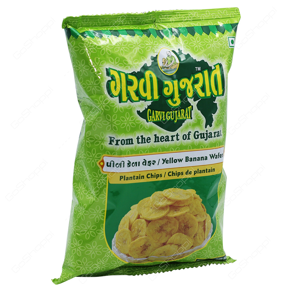 Garvi Gujarat Yellow Banana Wafer 180g