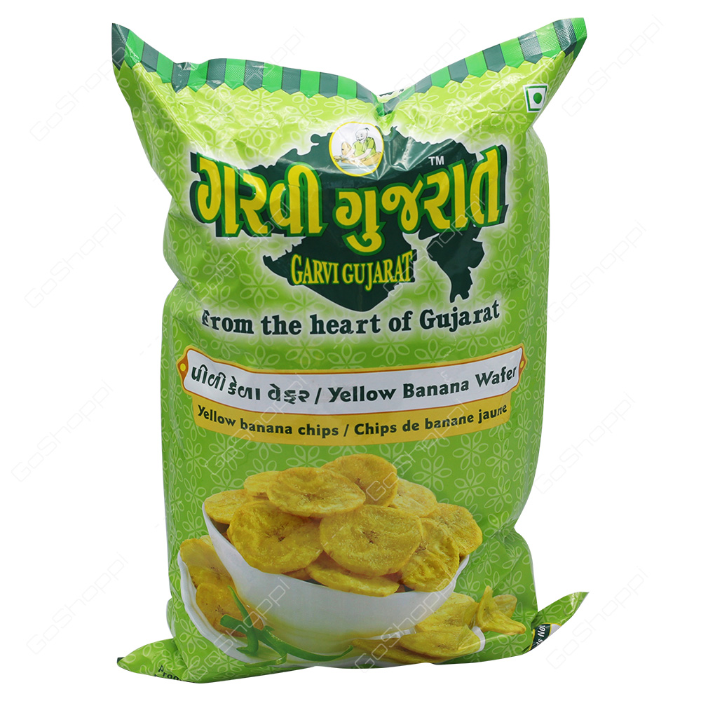 Garvi Gujarat Yellow Banana Wafer 908g