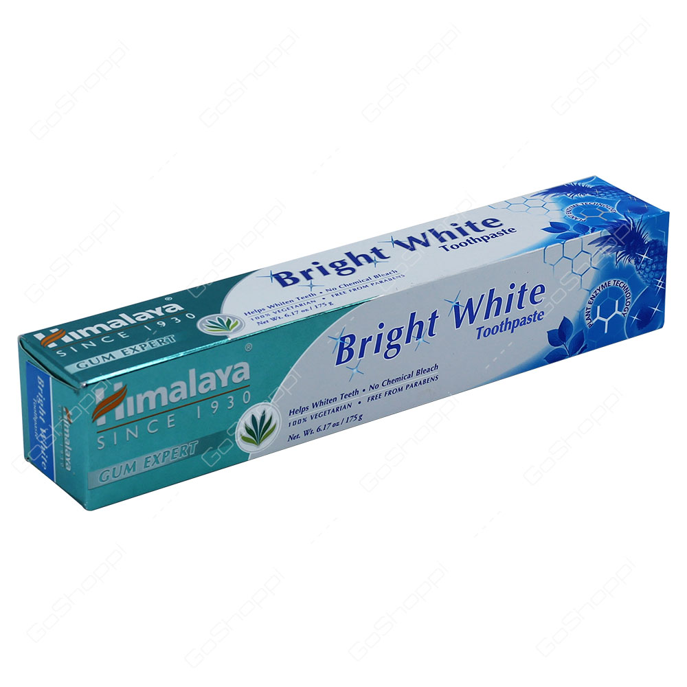 Himalaya Bright White Toothpaste 175g