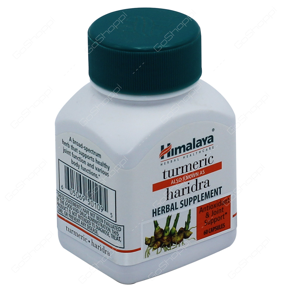Himalaya Haridra Herbal Supplement 60Capsules