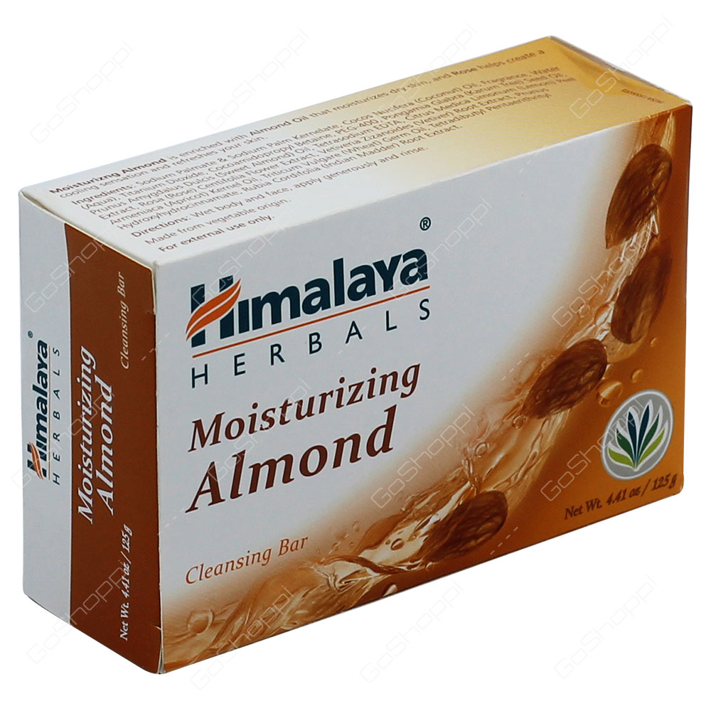 Himalaya Moisturizing Almond Cleansing Bar 125g