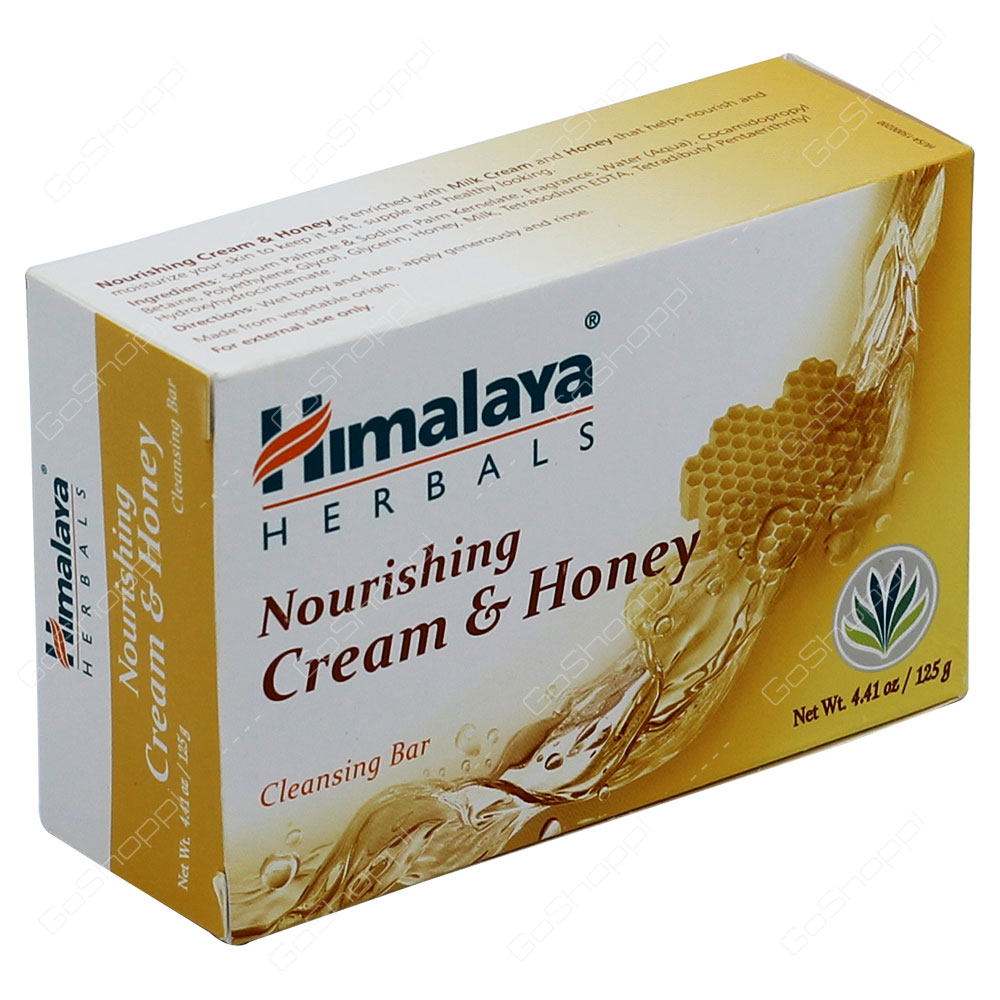 Himalaya Nourishing Cream & Honey Cleansing Bar 125g