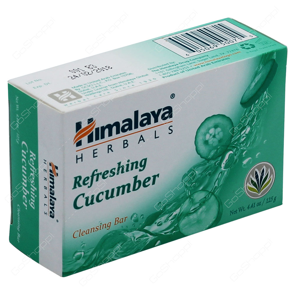 Himalaya Refreshing Cucumber Cleansing Bar 125g